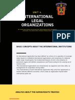 International Legal Organizations