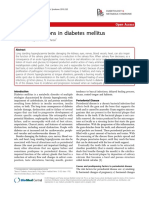 Bucal Alteration in DM