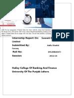 Summit Bank (Internship Report).odt