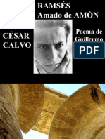 César Calvo - poema Ramsés Faraón Amado de Amón