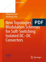 New Topologies and Modulation Schemes for Soft-Switching Isolated DC-DC Converters (1)