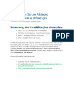 Certificacões Scrum