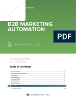 b2b Marketing Automation Best Practices Guide