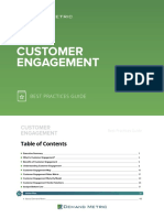 Customer Engagement Best Practices Guide