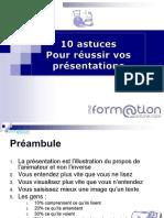10 Astuces Pour Réussir Sa Présentation Power Point