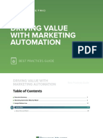 Driving Value With Marketing Automation Best Practices Guide