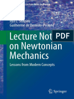 Lecture Notes on Newtonian Mechanics. Lessons From Modern Concepts - Shapiro