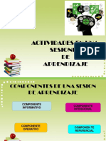 Actividades Sesion de Aprendizaje