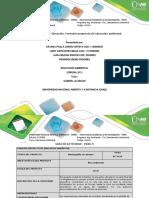 Actividad Paso 5 _Formato Proyecto de Educacion Ambiental