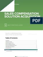 Sales Compensation Solution Acquisition Best Practices Guide