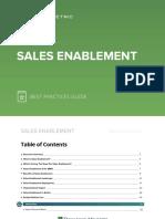 Sales Enablement Best Practices Guide