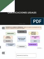 Semana 10 - Gratificaciones Legales