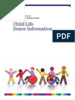 UMMMC ChildLife Donor Guide Updated Sept 2019