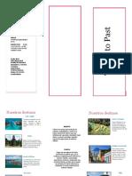 trifoliar de turismo