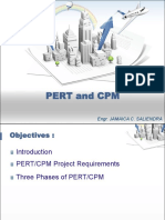 Construction Management 3 Pert and Cpm