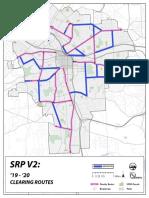 City of Syracuse Proposed Sidewalk Snow Pilot Map
