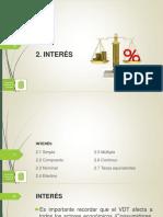 Presentación 04 - Interés Simple y Compuesto