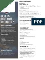 Hoja de Vida Carlos Bonfante Rodriguez