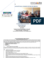 Plan De Trabajo Colegiado 2019-2020