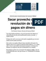 Sacar Provecho de La Revolución de Los Pagos Sin Dinero