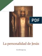 La Personalidad de Jesús