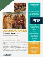 DOMINACIONES Y +ÁNGELES DE DIOS