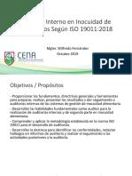 Auditor Interno en Inocuidad de Alimentos Según ISO 19011:2018