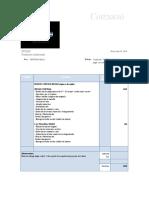 Cotización  VENTURA MALL - Paquete jingle con reducciones y actualizaciones
