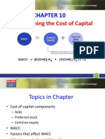 Ifm-chapter 10- Cost of Capital(Slide)