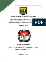 c1. Cover Proposal Pencairan Ke Desa