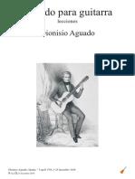 Dionisio Aguado. Método de Guitarra. Lecciones
