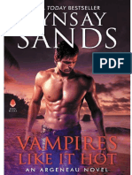 Familia Argeneau 28 - Vampires Like It Hot