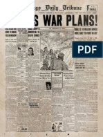 Chesly Manly  leaked FDR's War Plans