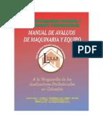 Manual Basico de Avaluo de Maquinaria y Equipos