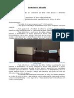 ATIVIDADE 1 - Coeficientes de Atrito