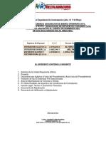 Registro de Contratista