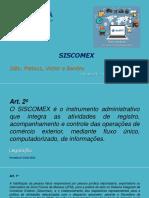Resumo SISCOMEX