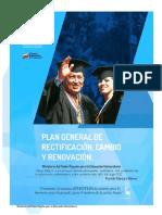 Ministro Cesar Trompiz PLAN MPPEU (Plan de Gestión de su administración cargado por el Prf. Gerson Gómez Acosta).)