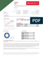 Pru Life UK Fund Fact Sheet June 2018