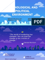Technological and Political Environment