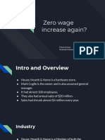 Zero Wage Increase Again?