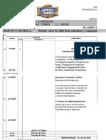 Planificación de Sistema de Producción