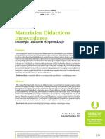 Materiales didácticos innovadores