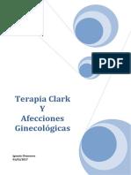 TERAPIA CLARK Y AFECCIONES GINECOLOGICAS