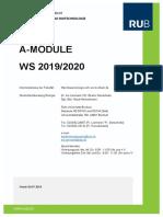 A Modul Verzeichnis Ws1920
