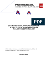 Documento Guía Para Proyectos de Grado