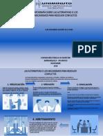 LAS ALTERNATIVAS O LOS MECANISMOS PARA RESOLVER CONFLICTOS.pptx