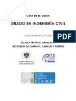 GRADO EN INGENIERÍA CIVIL