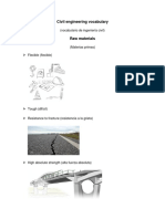 Civil Engineering Vocabulary