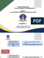 Power Point Modul 2 Karakteristik Pendidikan Sd